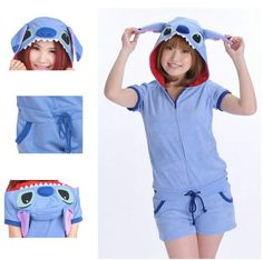 Specification: 100% new brand & high quality Material :cotton Packing inside:1*onesie Size available in Adult S/M/L Size S recommended for height 152CM-158CM/59.8inch-62.2inch Size M recommended for h