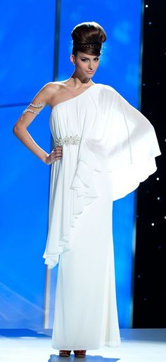 Miss Greece from 2011 Miss Universe National Costume