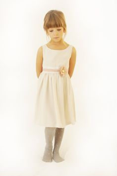 Vanilla Girl Dress. by Demetriougirls on Etsy, $220.00
