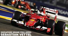 Sebastian Vettel - Singapore Grand Prix hero