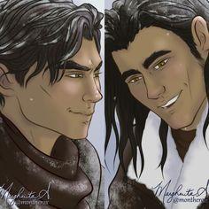 AZRIEL AND CASSIAN