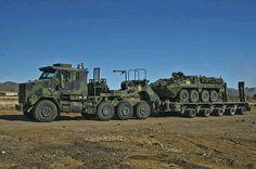 Heavy Military hauling