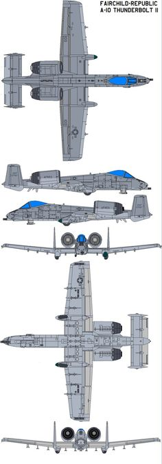 The Thunderbolt II is an American single-seat, twin-engine jet aircraft developed by Fairchild-Republic for the United States Air Force to provide close air support (CAS) of ground forces by a. A 10 Aircraft, Fighter Aircraft, Fighter Jets, Military Jets, Military Weapons, Military Aircraft, Air Force, Aircraft Painting, 3d Max