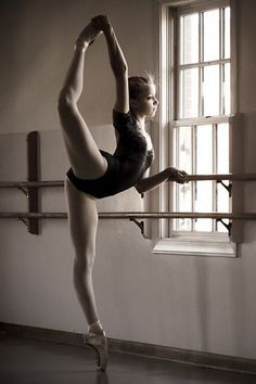 I'd love to be good at Ballet