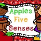 Fun Freebie with 5 mini-posters and 5 printables. Describe apples using your five senses (hearing, sight, smell, touch, and taste). These posters a...