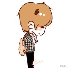 Luhan chibi   Kites-EXO-—╬ღ♥ ~♥★♫ Luhan-Little Deer ~♥★♫♥ღ ...