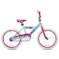 Give her the sweetest ride around with the cool, stylish Girls Lucky Star Bike from Kent. The Lucky Star is safe, strong, and built to last. V-brakes with alloy levers ensure reliable braking and the