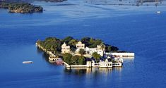 Jagmandir Island in Udaipur, India - Lonely Planet Honeymoon Destinations, Amazing Destinations, Udaipur India, Jaipur, Palace Tour, Lake Garden, India Tour, Tourist Places, Lake View