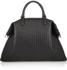 Bottega Veneta - Convertible Intrecciato Leather Tote - Black
