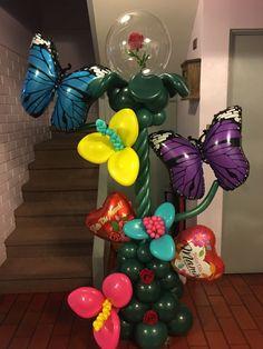 Balloon Columns, Balloon Decorations, Bouquets, Balloons, Luxury, Globes, Bouquet, Bouquet Of Flowers, Balloon