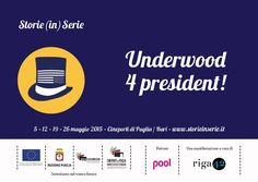 Pronti per la campagna elettorale? A maggio al Cineporto di #Bari arriva #storieinserie.  #serietv #HouseofCards #FrankUnderwood