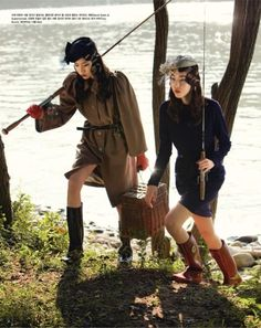 """A River Runs Through It"" by Bo Lee for Vogue Korea"