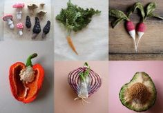 Garden Vegetables from Simply Crochet Magazine