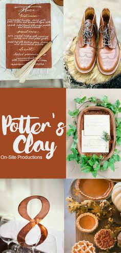 Pantone Fall 2016 Color Report--Potter's Clay-- the neutral earth tone with hints of orange and copper and bronze makes this color anything but boring!  Add in some mixed metallics for an understated elegance.