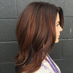 Define your locks with balayage highlights in gorgeous copper shades. Check out this detailed how-to and the products suggested for inspiration.