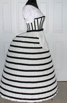 Tips on how to make a Hoop Skirt