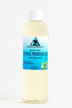 Evening Primrose Oil Organic Carrier Virgin Cold Pressed Pure 4 oz -- Check this awesome product by going to the link at the image. Primrose Oil, Evening Primrose, Organic Aloe Vera, Organic Oil, Organic Essential Oils, Carrier Oils, Aloe Vera Gel, Soap Making, Math