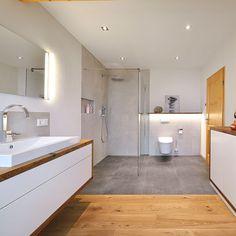 Badezimmer: Ideen, Design und Bilder | Badezimmer Idee Neubau ...