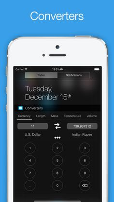 Orby Widgets - To Make Notification Center Even More Useful on App Store:   # If you use Today's view or Notification Center on your iOS device often Orby Widgets is an essential utility for you # --- Unlimited additio...  Developer: Monis Manzoor  Download at http://ift.tt/1v1XzKj