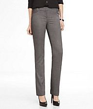 Birdseye Barely Boot Columnist Pant - Express