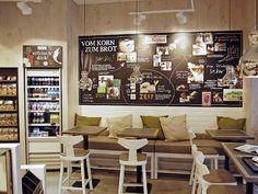 Ladenbau Bäckerei – Bäckereieinrichtungen – Caféeinrichtungen – H+B, Düsseldorf