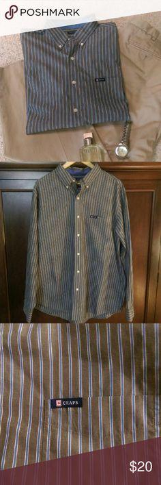 Chaps Men's long sleeve shirt Men's shirt, size XL. Bundle to save more. Chaps Shirts Casual Button Down Shirts