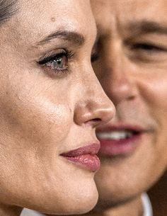 "celebritycloseup: "" angelina jolie and brad pitt "" say it ain't so!"
