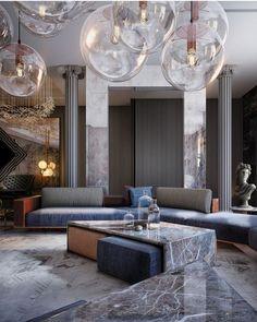 Interior Design Living Room, Living Room Designs, Living Room Decor, Luxury Homes Interior, Luxury Home Decor, Living Room Inspiration, Interior Design Inspiration, Design Ideas, Contemporary Interior Design