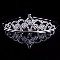 >> Click to Buy << Bridal Wedding Rhinestone Crystal Hair Headband Crown Comb Tiara Prom Pageant #Affiliate