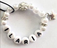 Perlenarmband für Baby Beaded Bracelets, Charmed, Baby, Jewelry, Fashion, Feathers, Moda, Jewlery, Bijoux