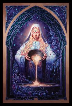 'Galadriel' by Michael C Hayes on deviantART.