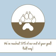 We have just reached 50% of our end of year goal! We're half way. Can you get us the rest of the way? http://rockymountainwild.org/donate/giving