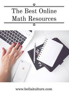 Bella Kulture: Best Online Math Resources #math #collegetips