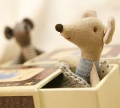 maileg mouse in matchbox