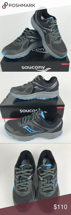 Pick SZ//Color. Saucony Womens Caliber TR Black//Coral Athletic Shoe