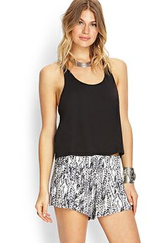 Abstract Moment Woven Shorts | FOREVER 21 - 2000073222