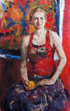 "Ulrich Gleiter (Germany: 1977) - ""Red Portrait"" @Gallery 1261 :: Denver, Colorado"