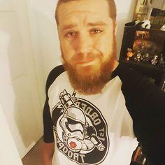 Rocking the TR8R.  #OfficialRIPTster #RIPTapparel #RIPT #Tee #Tshirt #Style #GraphicTee #Outfit #OutfitOfTheDay #InstaFashion   #beard #beardlife #starwars #stormtrooper #nerd   Reposted Via @flogerton