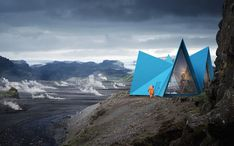 Gallery of Striking Easily Assembled Cabins Will become Symbols for Shelter and Safety Along Remote Trekking Paths - 1