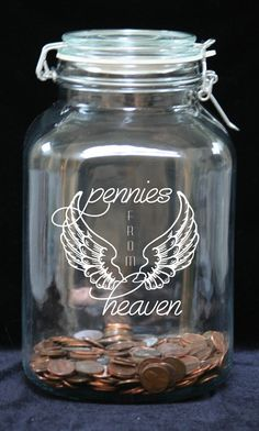 This would be a thoughtful gift for the person who picks up pennies on the ground as a reminder of a loved one who has passed away.    ***PLEASE