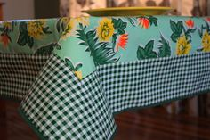 Dress up your folding camp table with an Oilcloth Tablecloth ($40). Bonus points: it'll easily clean up after late-night beer or margarita spills.