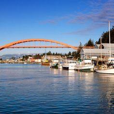 Rainbow Bridge - La Conner, Washington