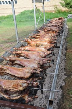 Proper Lamb on the Spit - Greek Style