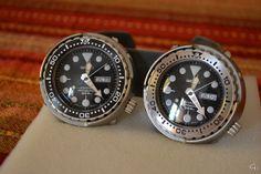 Seiko Tuna SBBN015 & SBBN017