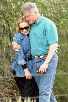 These Vintage Pics of Bill and Hillary Clinton Will Give You So. Many. Feels.