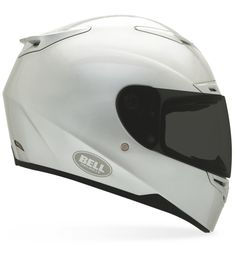 A helmet that is full face, very visible with maybe a feminine touch but NO PINK Bell RS 1 Motorcycle Helmet White Bell RS 1 Motorcycle Helmet Street Bike Helmets, Motorcycle Suit, Cool Motorcycles, Hot Bikes, Motorcycle Accessories, My Ride, Headgear, Ducati, Cool Stuff