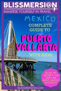 Puerto Vallarta, Mexico is a wonderful vacation destinations for families!Check out this guide to Puerto Vallarta with kids and find out what you need to know to plan your visit. Including my super secret tip for an unique activity that made our trip even better (seriously, it will make your trip)!  things to do in puerto vallarta kids   puerto vallarta kids activities   puerto vallarta for kids #puertovallarta #mexicowithkids
