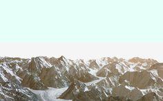 mountains blue - piperwinston