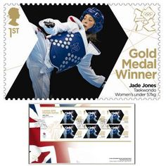 Large image of the Team GB Gold Medal Winner First Day Cover - Jade Jones