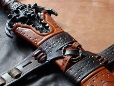 Sword sheath detail for Tarran